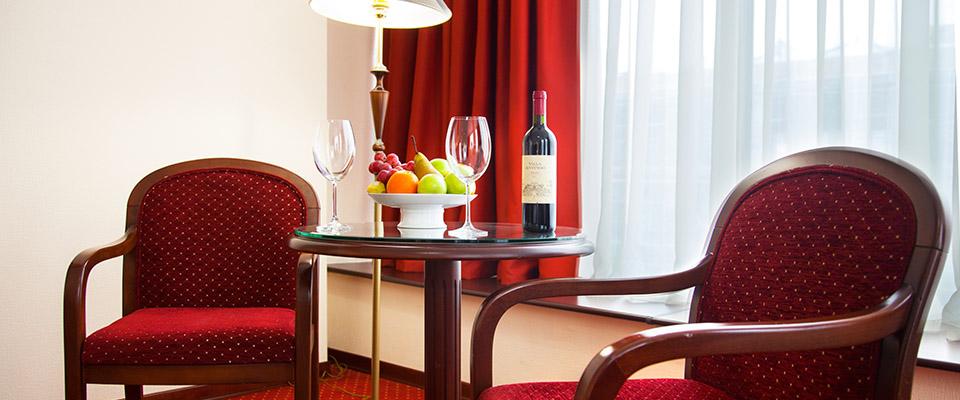 Шведский стол в отеле (гостинице) Санремо, фото