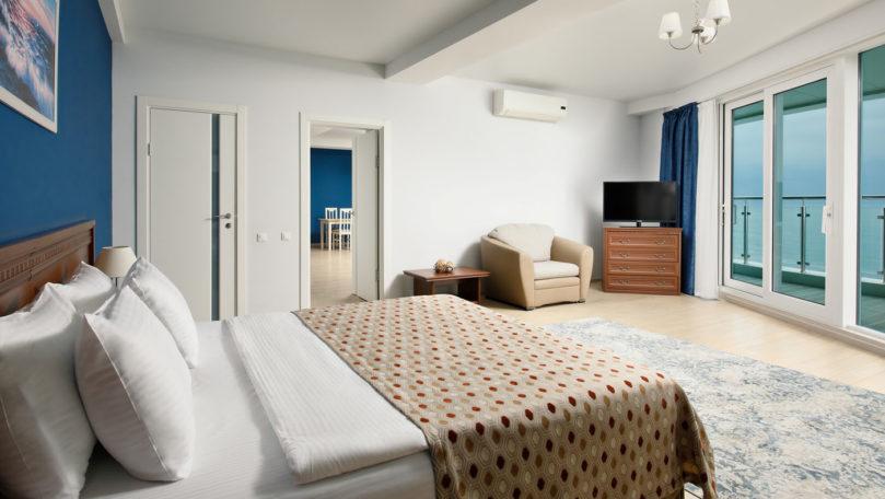 Апартамент премиум на берегу моря. Отличный вид. Отель