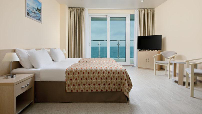 Апартамент семейный на курорте Сочи на берегу моря
